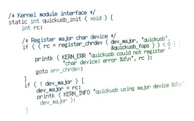 Image of some kernel code
