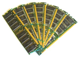 Image of some DIMMs